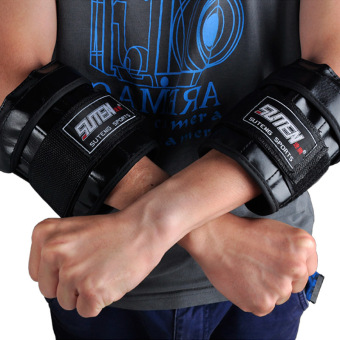 Harga SUTEN Adjutable Hand Wrist Weights Sandbag 1-3kg Weight Training For Hands MMA Boxing Sanda Sandbag
