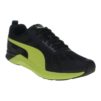 Harga Puma Propel Men's Running Shoes - Puma Black-Safety Yellow