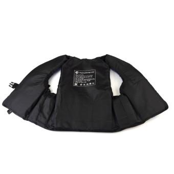 ... Jaket Rompi Renang Untuk Dewasa Hidup Busa Peluit Pencegahan Banjir XL Biru - 5