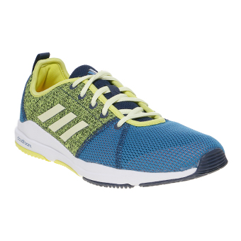 Harga Adidas Arianna Cloudfoam Shoes - Unity Blue-Ice Yellow-Solar Yellow