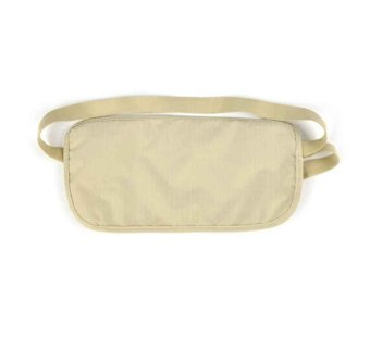 Harga Rafa Money Belt (Invisible Pouch) / Tas Pinggang Security Travelling Pouch - Cream