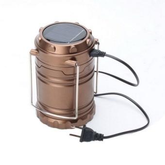 StarJakarta Lampu Emergency / Lampu Lentera - Coklat .