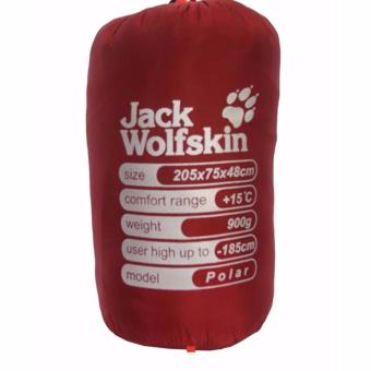 Harga Sleeping Bag Jack Wolfskin Polar Merah