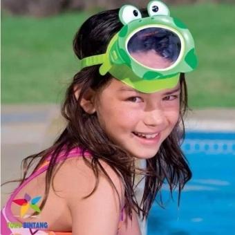 Update Harga INTEX Kaca Mata Renang Masker Anak 3-8 Thn – Fun Masks – AntiUV(Green) IDR108,000.00  di Lazada ID