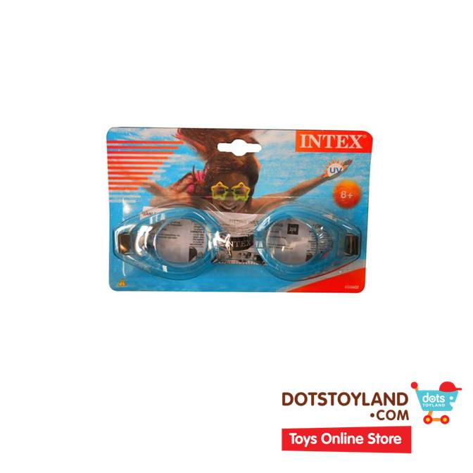 ... INTEX Kacamata Renang Play Goggles Blue / Biru 55602 ...