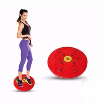 Jogging Magnetic Trimmer Body Plate - Merah