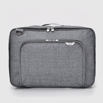Kanvas portabel tas wanita dimuat tas tas perjalanan tas