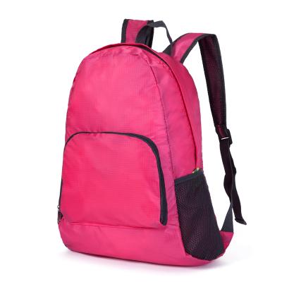 Kebugaran luar ruangan perjalanan dilipat kulit siswa tas ransel tas ransel a41413738a