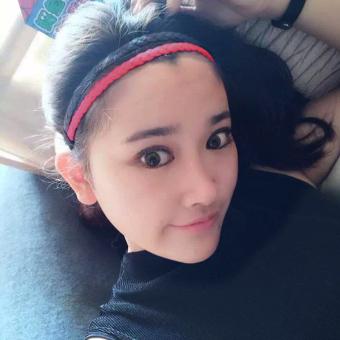 Kebugaran Perempuan Pemakaian Di Kepala Balok Tali Rambut Yoga Pita Rambut