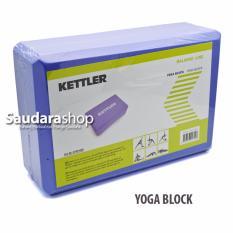 Ketller 0700 Yoga Blok / Balok Yoga / Yoga Brick / Alat Bantu Yoga