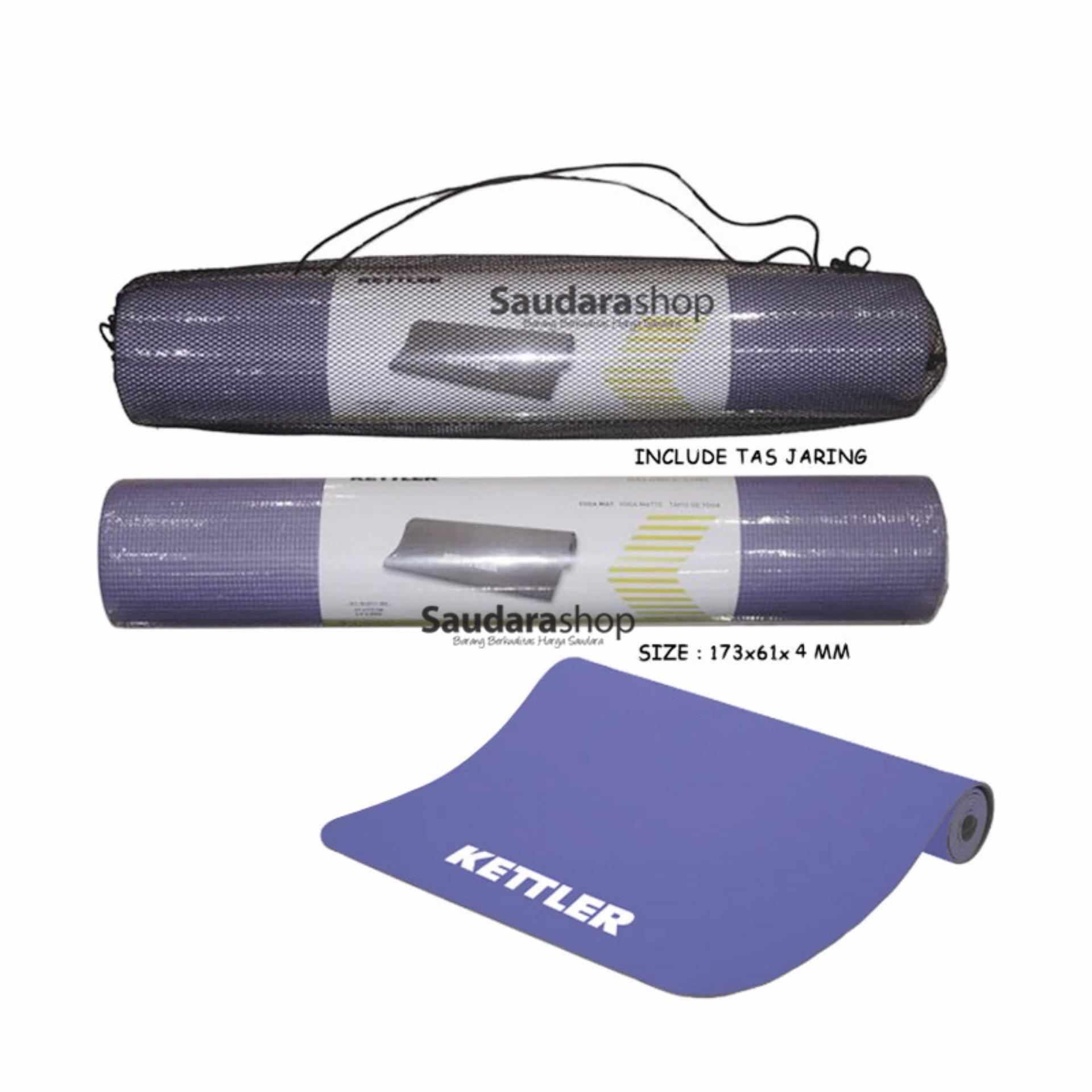 Kettler 0711 Matras Yoga Mat 4mm 45mm Daftar Harga Terbaik 80mm Flash Sale