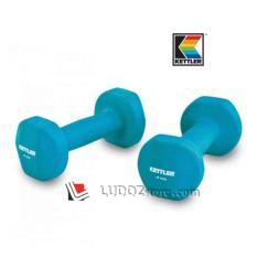 KETTLER Neoprene DUMBBELL 8kg/pair ( 2x 4kg ) Dumbell Senam Aerobic dan Fitness -0804