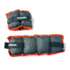 Kettler Nylon Ankle/Wrist Weight 5Kg Grey/Orange