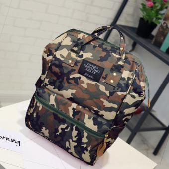 Harga Korea Fashion Style portabel siswa paket tas Ori