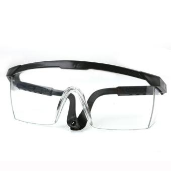 harga LALANG Goggles NERF Telescoping Temples Grinding Dust Anti-ImpactProtection Goggles Labor (Black) Lazada.co.id