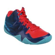 League Beast Sepatu Basket Pria - Flame Scarlet/ Blue Depth/ Bac