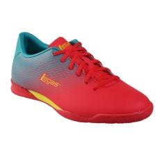 League Legas Series Attacanti LA Sepatu Futsal Pria - Poppy Red/Blue Gras/Sulphur Sp