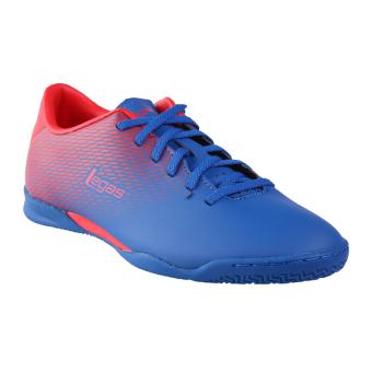 harga League Legas Series Attacanti LA Sepatu Futsal Pria - Snorkle Blue/Fiery Red Lazada.co.id