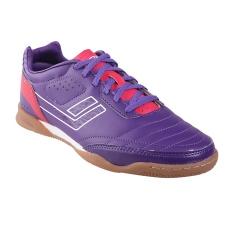 League Legas Series Meister LA Sepatu Futsal Pria - Royal Purple/ Barberry/ White