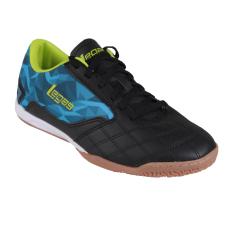 League Legas Series Tyra LA Sepatu Futsal Pria - Black/Aquarius/Lime Punch
