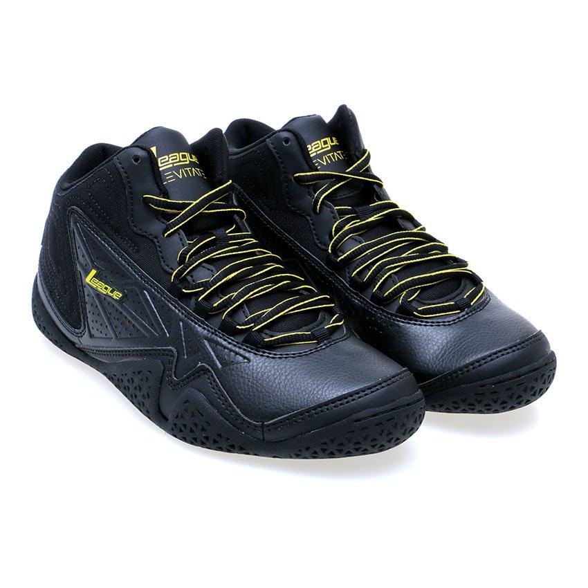 Price Checker League Levitate Sepatu Basket - Black-Dandelion Harga ... 21f00d42b6