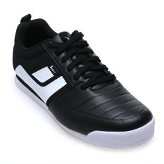 League Tyga C Series Sneakers - Black- White-High Risk Red