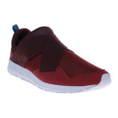 League Vault Slip On Sepatu Sneakers - Beaujolais-Port Royal-White