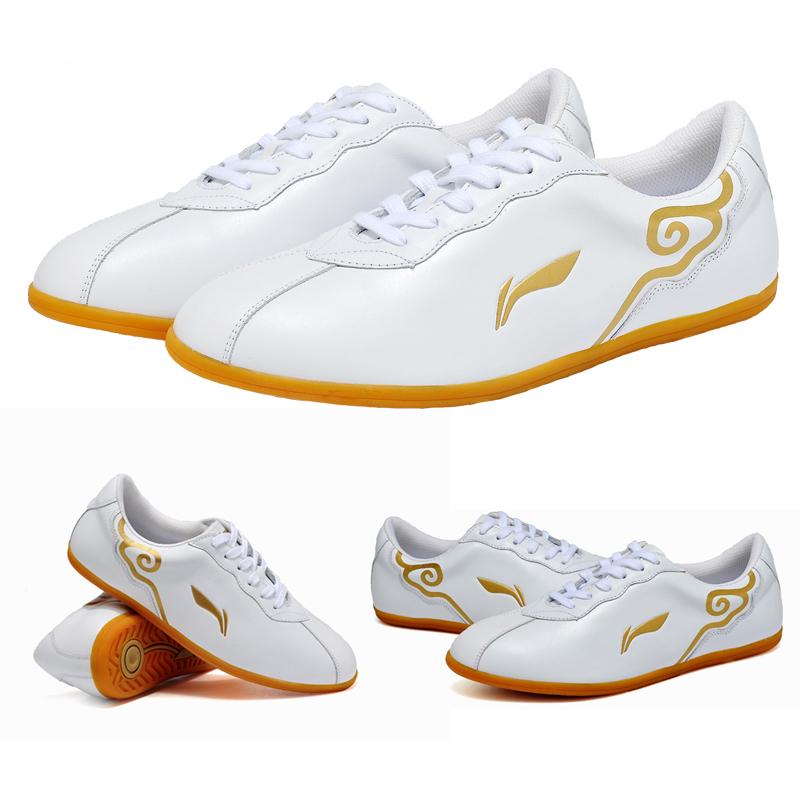 LINING soft kulit untuk pria dan wanita ayat yang sama tai chi tai chi sepatu sepatu Pagi