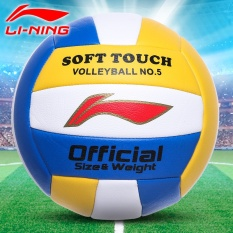 Lining volleyball authentic No. 5 inflatable soft test student special ball, adult children beach game training ball - intl