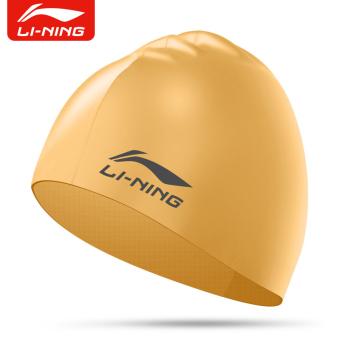 HARGA LINING wanita dengan rambut panjang Waterproof silikon berenang topi renang topi topi renang topi renang TERPOPULER