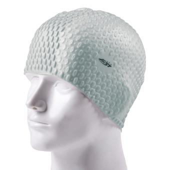BELI LOOESN topi renang wanita dengan rambut panjang tahan air pelindung telinga silikon topi renang TERBAIK