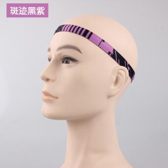 REVIEW Luar ruangan berjalan bersepeda antiperspirant pita penahan keringat olahraga karet rambut MURAH