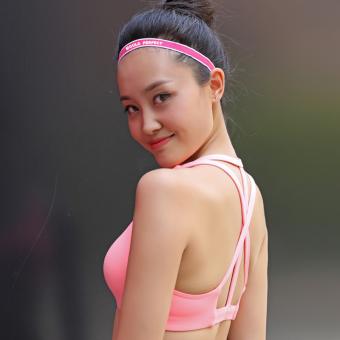 HARGA Luar ruangan yoga kebugaran Ma Lasong keringat olahraga ikat kepala karet rambut TERPOPULER