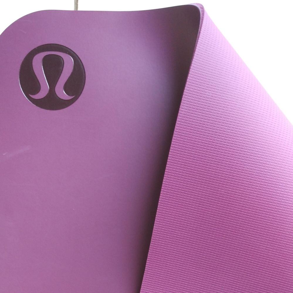 ... lululemon yoga mat 5mm / the reversible mat 5mm original from australia - marvel color ...