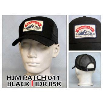 harga Mahameru - Hat - HJM PATCH 011 - BLACK Lazada.co.id