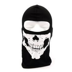 Masker Full Face Spandek Balaclava - Motif Tengkorak