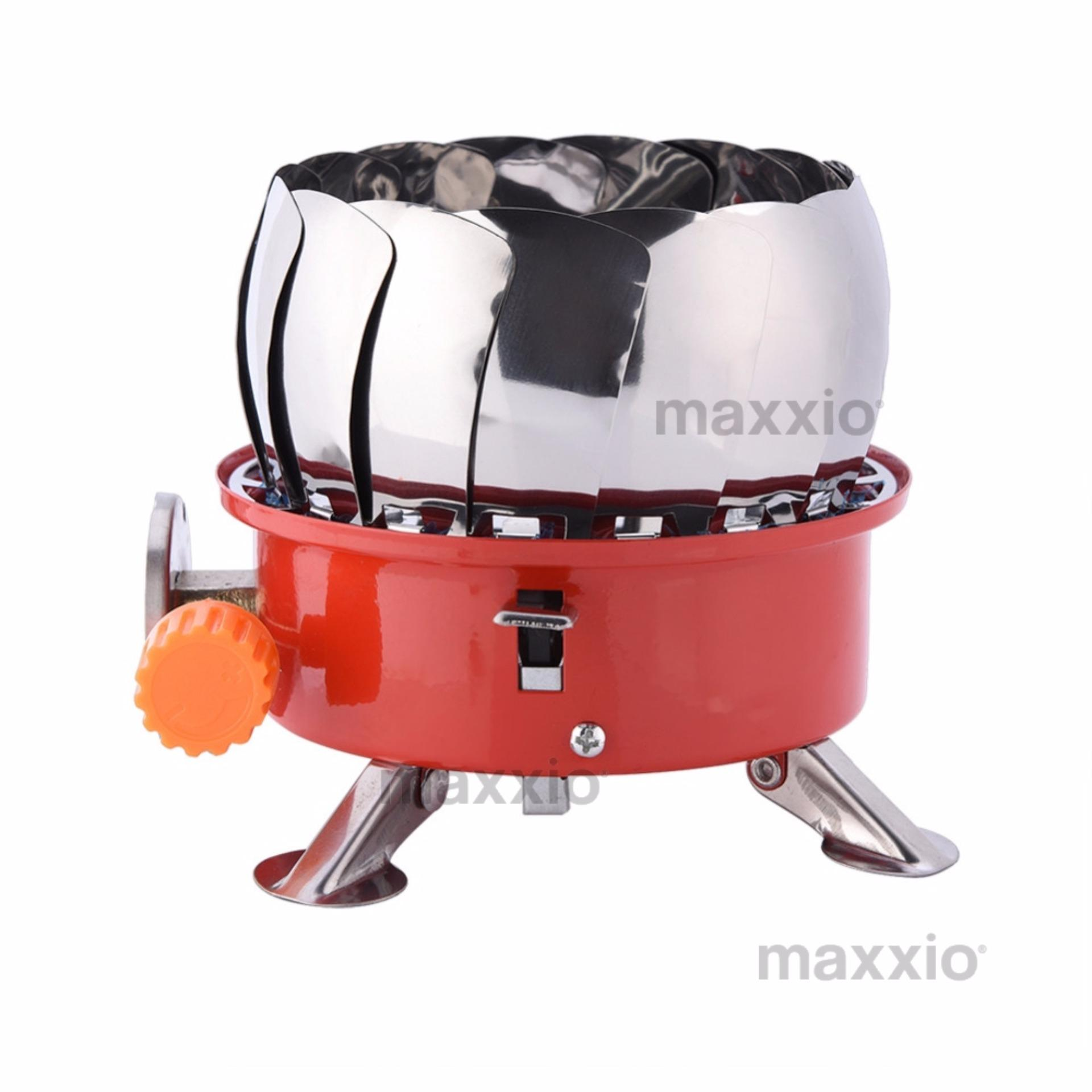 Periksa Peringkat Maxxio Wind Proof Kompor Portabel Anti Angin Kembang Windproof Camping Portable Stove