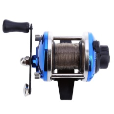 Mini Right Hand Drum Fishing Wire Winder with 0.2mm Line 50m - intl