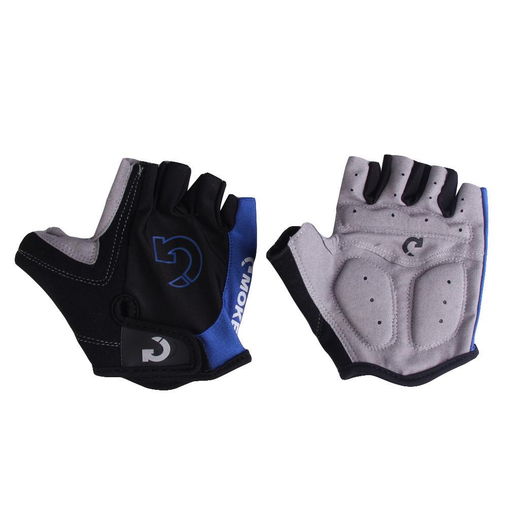 Laki Sepeda Sarung Tangan Bersepeda Ski Mens Rockbros S106 Bike Glove Half Finger Black Mode Motor Sport Gel Setengah Jari Biru Sz Xl