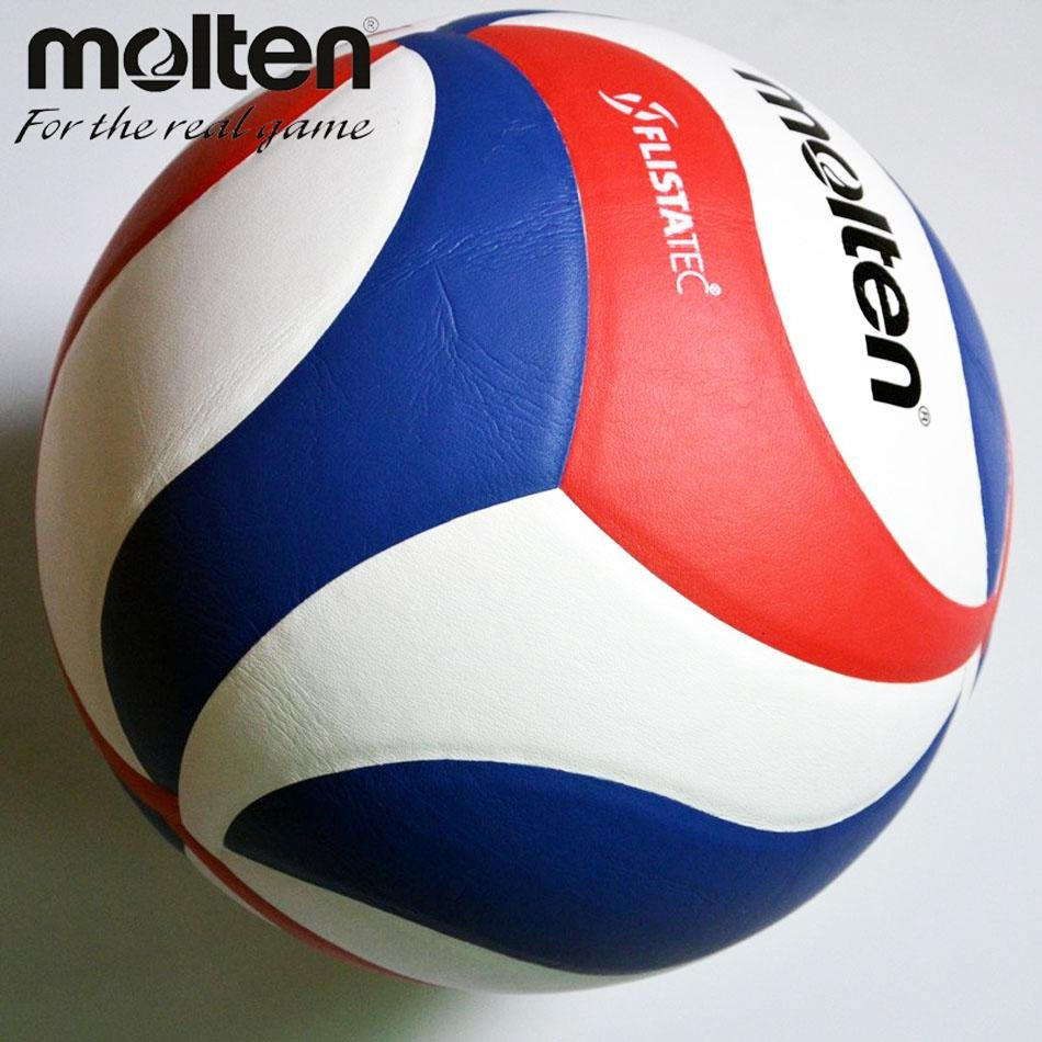 Molten 5000 Official GAME Volleyball Size 5 Ball Molten V5M5000 Volleyball Soft PU .