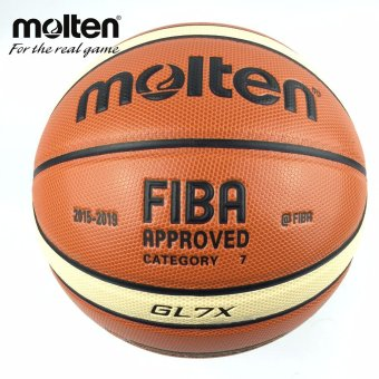 Molten Basketball Ball GL7X Ball Gifts Net Needles and Bag - intl