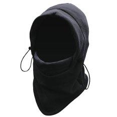 Moreno Masker Buff Balaclava Polar Multifungsi 6in1 Masker Full Face Kupluk Ninja - Hitam