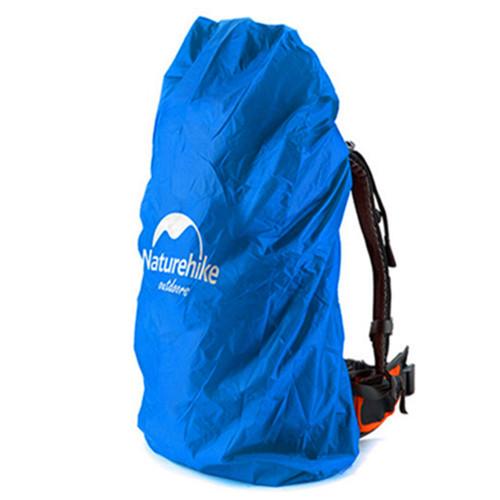 Naturehike gunung pelindung hujan tas ransel penutup tahan air ( 50-70 liter biru)