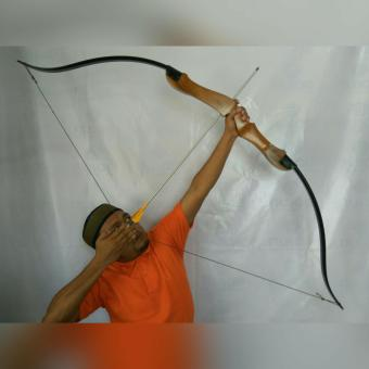 Nusae Busur Panah Woodbow R60 - 2