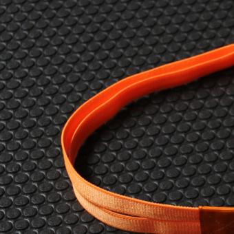 Olahraga antiperspirant dengan silikon elastis yang tinggi karet rambut