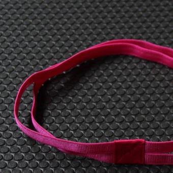 HEMAT Olahraga antiperspirant dengan silikon elastis yang tinggi karet rambut MURAH