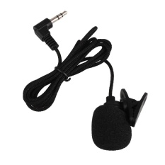 Oscar Toko Mini Clip-on Lapel Wired Double Track Mikrofon MIC untuk smartphone PC-Intl