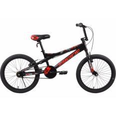 """Pacific Sepeda BMX 20"""" X-Man 1.0 Merah Hitam - Free Ongkir Kota Medan dan Kota Binjai"""