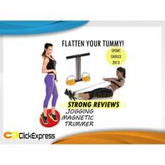 Paket Alat Olahraga Pelangsing Tubuh Jogging dan Tummy Trimmer