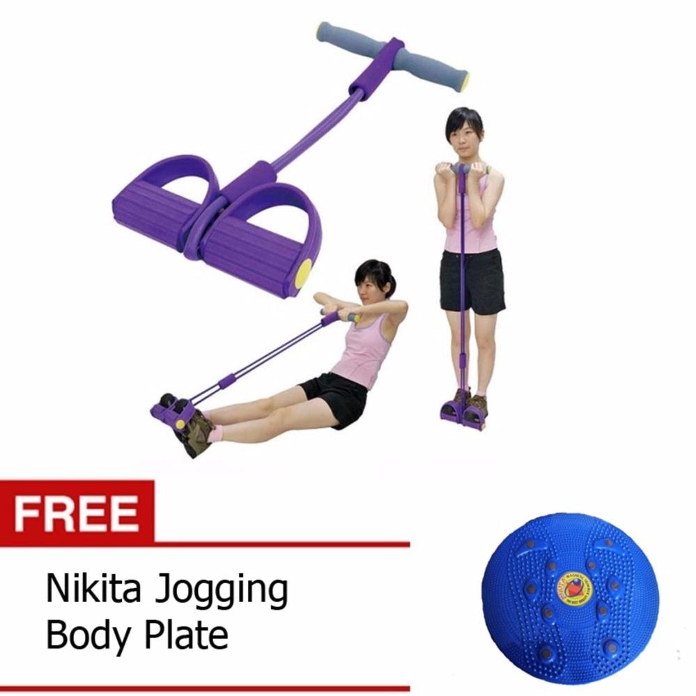 ... Paket Double Alat Pembentuk Tubuh Tummy Trimmer Dan Jogging Body Plate ...
